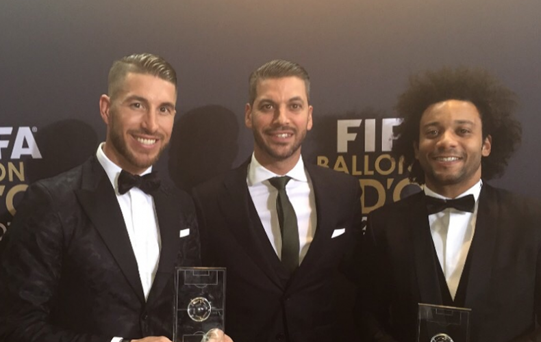A Special Night with Sergio and Marcelo at the Ballon d'Or Ceremony in Zurich
