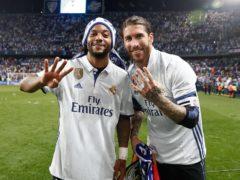 Fourth league title for Sergio Ramos and Marcelo Vieira