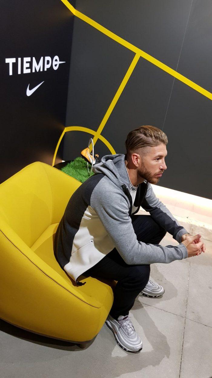 Sergio Ramos Nike Tiempo