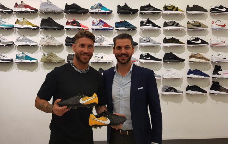 Sergio Ramos launches the new Nike Tiempo VII