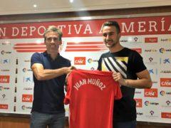 Juan Muñoz, reinforcement for UD Almería´s front line