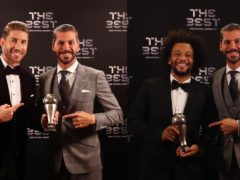 Sergio Ramos and Marcelo selected in FIFA FIFPro World 11