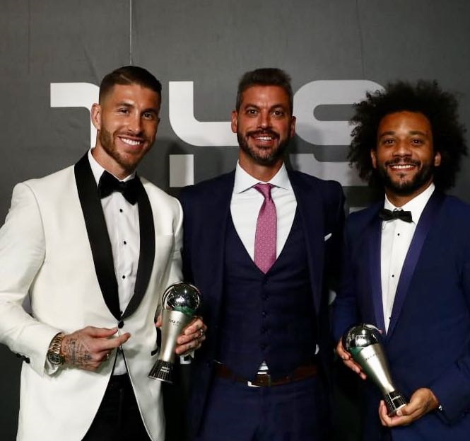 SERGIO RAMOS AND MARCELO SELECTED IN FIFA FIFPRO WORLD11 2018