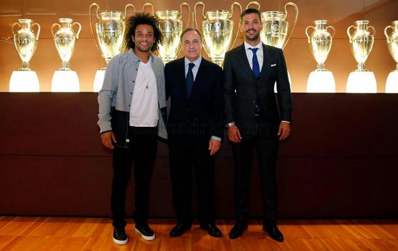 Marcelo prolonga su contrato con el Real Madrid