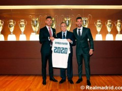 Sergio Ramos renueva con el Real Madrid hasta 2020