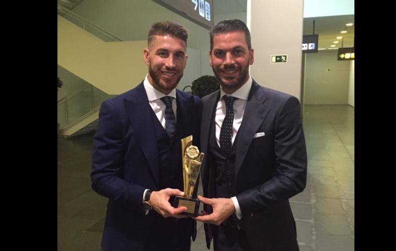 Noche de fútbol en la Gala de los Premios de La Liga 2015