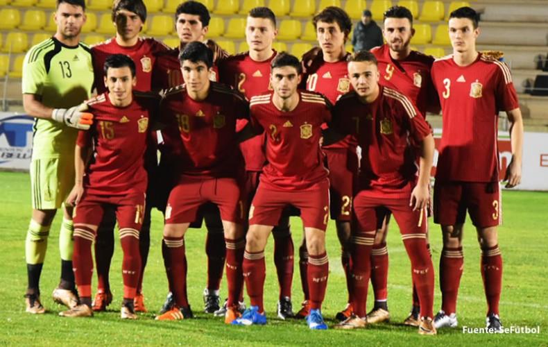 Gran actuación de Juan Soriano con la selección sub-19