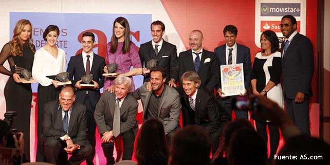 RR-Soccer Management Agency, en los Premios AS del Deporte 2015