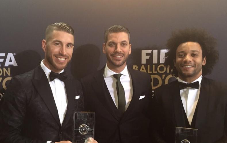 Una noche especial con Sergio y Marcelo en la gala del Balón de Oro de Zúrich