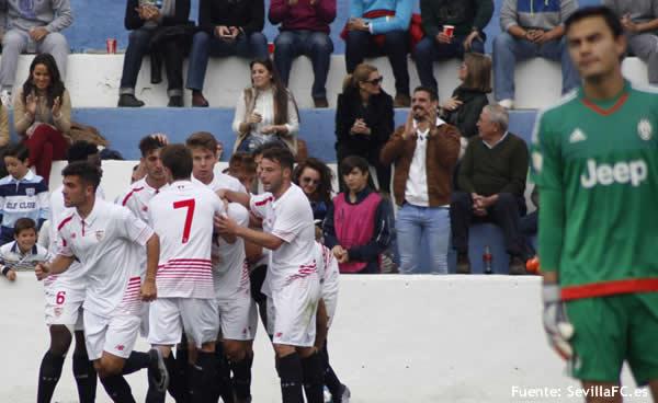 El Sevilla se enfrentará al Ajax en los play-off de octavos de la Youth League