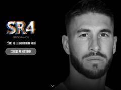Sergio Ramos estrena página web