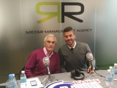 Tarde de radio en RR-Soccer Management Agency