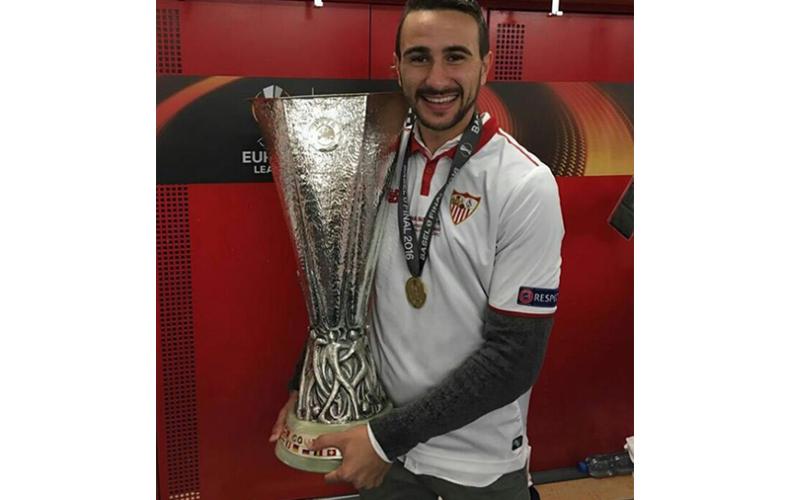 Primera Europa League para Juan Muñoz