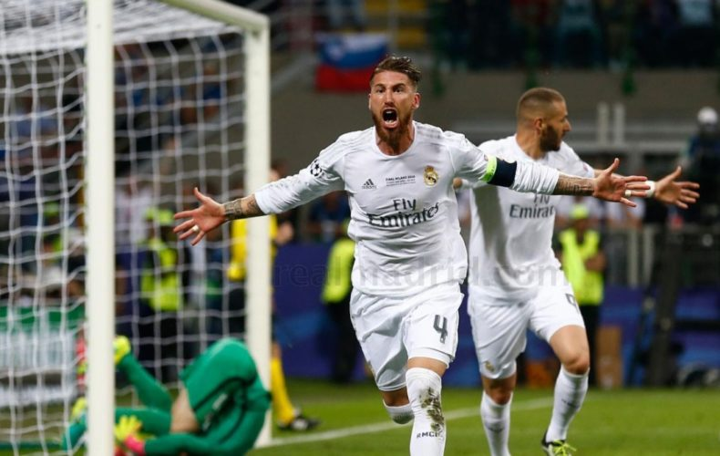 Sergio Ramos, nominado para el Balón de Oro