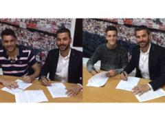 Genaro y Juan Soriano renuevan con el Sevilla FC hasta 2019