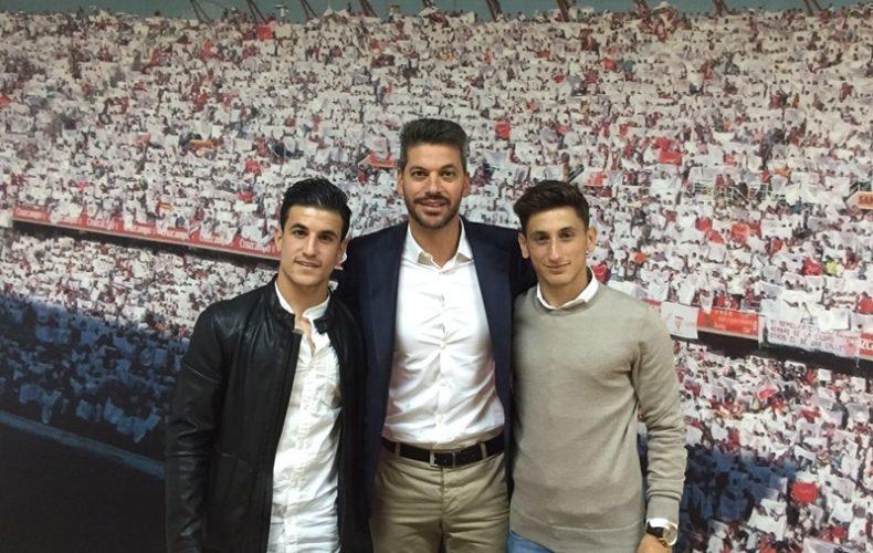 Juanje y Matos continuarán en el Sevilla FC hasta 2018