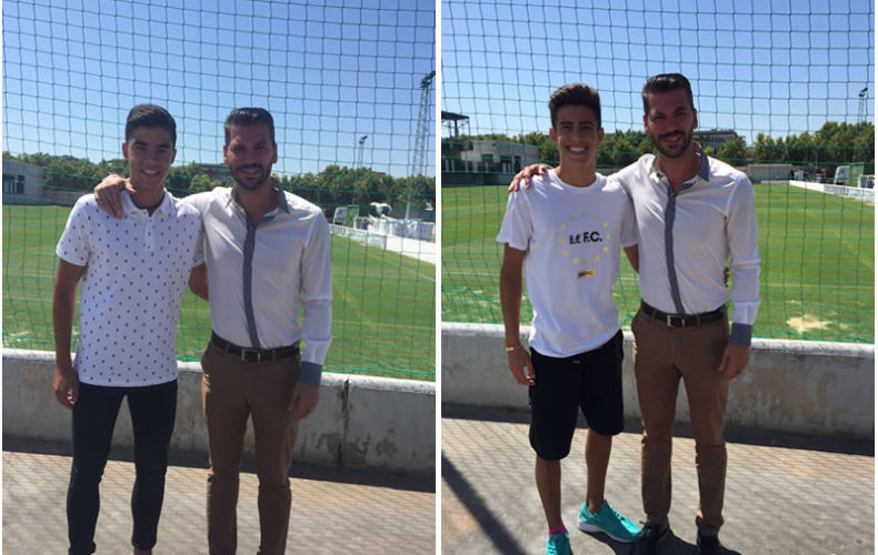 Julio y Guti continuarán en el Equipo Juvenil del Real Betis Balompié
