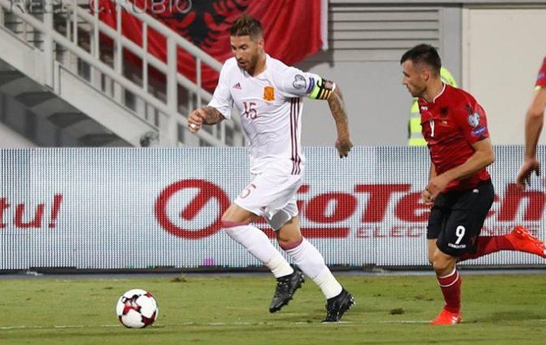 Sergio Ramos cumple 140 partidos con la Selección Española
