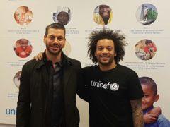 Visita de Marcelo a la sede de UNICEF Madrid