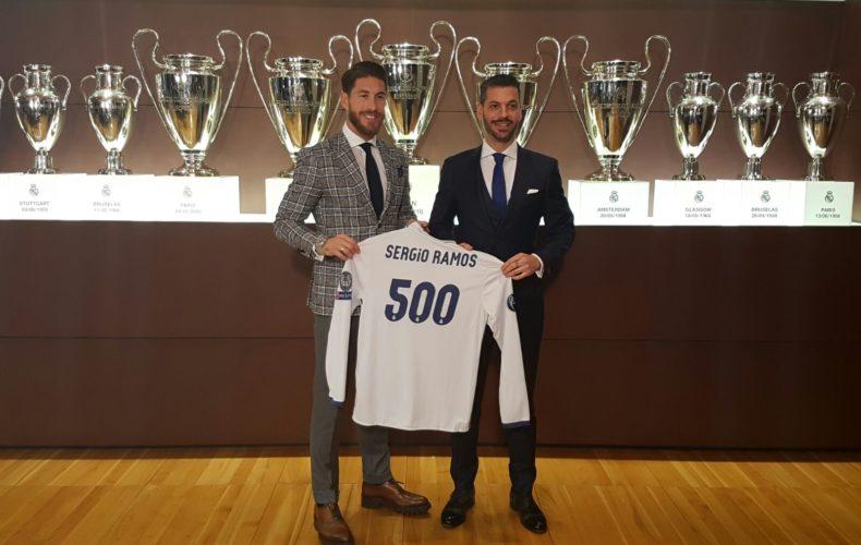 Sergio Ramos alcanza los 500 partidos oficiales con el Real Madrid