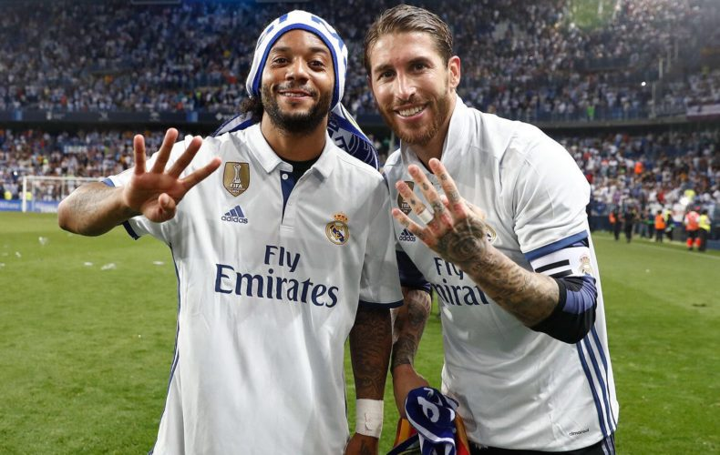 Cuarta liga para Sergio Ramos y Marcelo