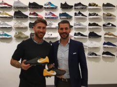 Sergio Ramos presenta las nuevas Nike Tiempo VII