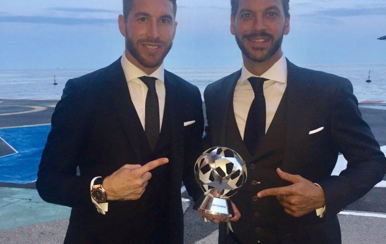 Sergio Ramos, elegido mejor defensa de la UEFA Champions League 2016/2017