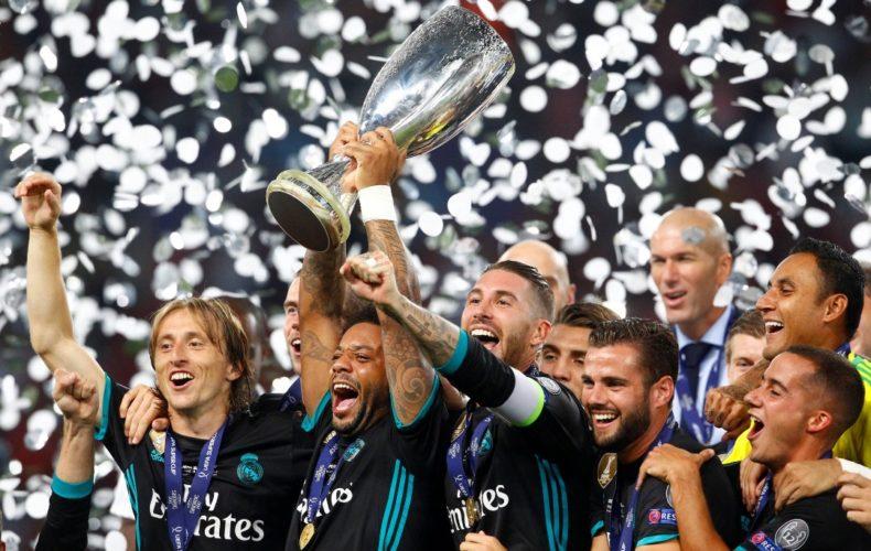 Sergio Ramos y Marcelo logran su tercera Supercopa de Europa