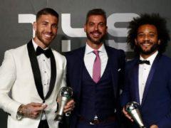 SERGIO RAMOS Y MARCELO, EN EL FIFA FIFPRO WORLD11 2018